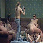 swinger orgy video