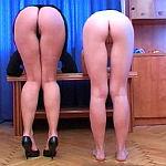 Lesbian slave asses